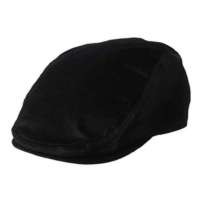 コンゴール コード キャップ 帽子 黒 ブラック メンズ 男性用 メンズ帽子 ブランド雑貨 【 BLACK KANGOL CORD CAP 】