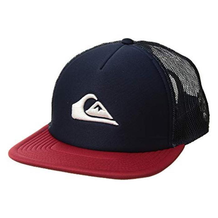 クイックシルバ オール イン キャップ 帽子 紺 ネイビー ブレーザー ブレイザー メンズ 男性用 小物 メンズ帽子 【 NAVY QUIKSILVER ALL IN CAP BLAZER 】