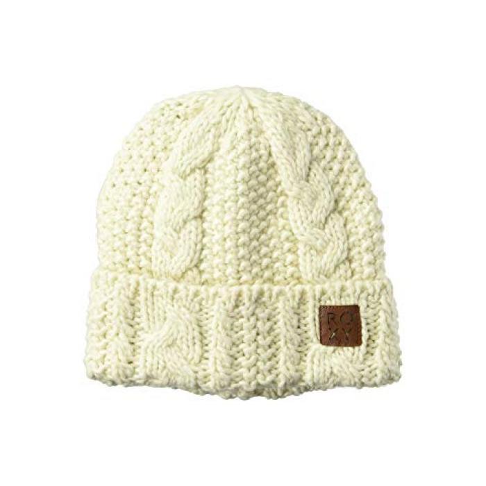 ロキシー キャップ 帽子 レディース 女性用 レディース帽子 【 ROXY TRAM BEANIE EGRET 】