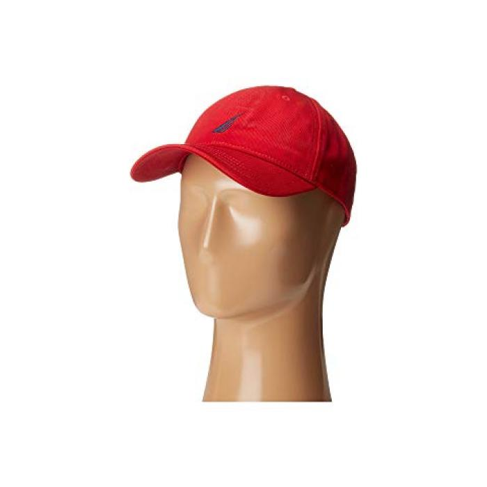 チノ ツイル キャップ 帽子 デッキ 赤 レッド メンズ 男性用 バッグ 【 NAUTICA CHINO TWILL JCLASS CAP DECK RED 】