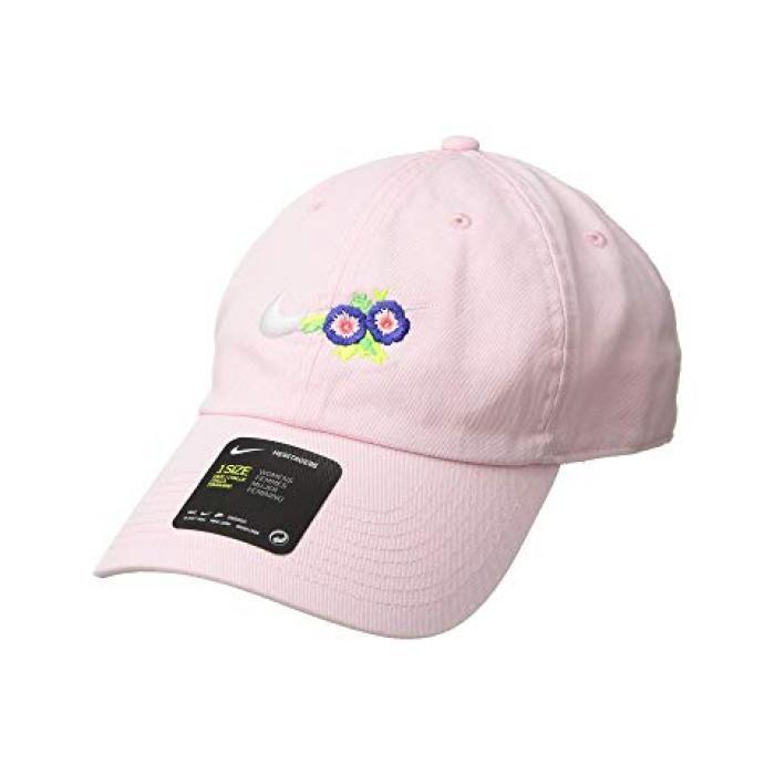 ナイキ キャップ 帽子 フローラル アークティック ピンク レディース 女性用 バッグ レディース帽子 【 NIKE PINK H86 CAP FLORAL ARCTIC 】