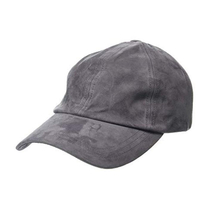 ハット アタック ラックス ベースボール キャップ 帽子 チャコール レディース 女性用 小物 【 HAT ATTACK LUXE BASEBALL CAP CHARCOAL 】