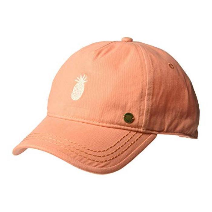 ロキシー レベル ベースボール キャップ 帽子 サーモン レディース 女性用 ブランド雑貨 バッグ 【 ROXY NEXT LEVEL BASEBALL CAP SALMON 】