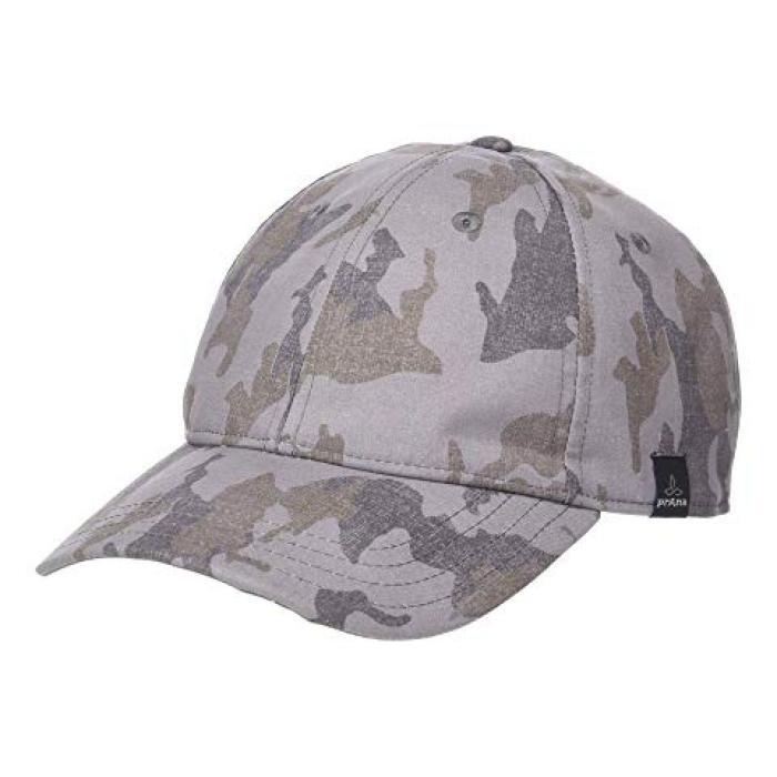 ボール キャップ 帽子 銀色 シルバー スプレー スプレイ カモ メンズ 男性用 ブランド雑貨 小物 【 PRANA MELLER BALL CAP SILVER SPRAY CAMO 】