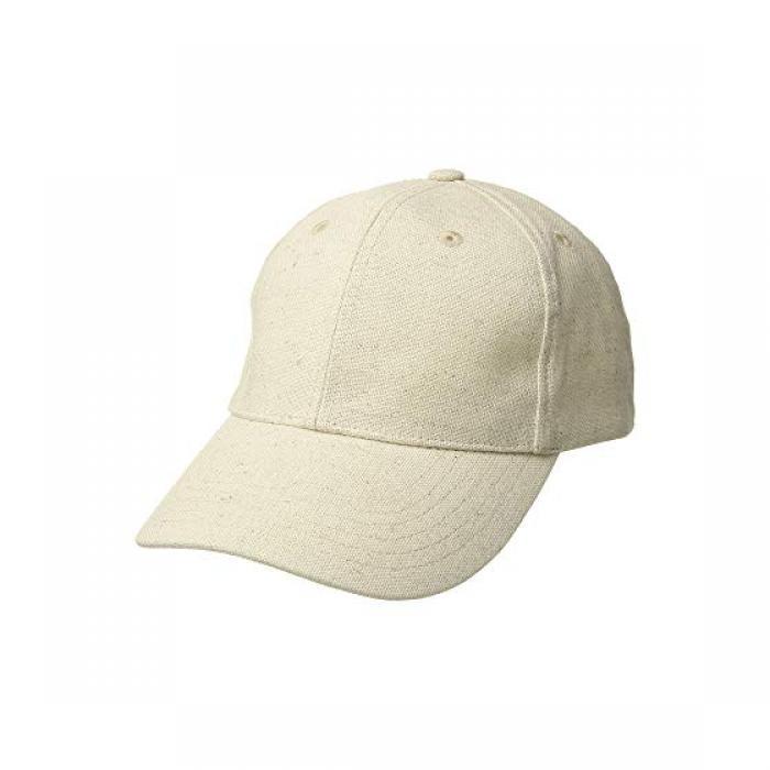 ハット アタック リネン ベースボール キャップ 帽子 ナチュラル レディース 女性用 小物 レディース帽子 【 HAT ATTACK LINEN BASEBALL CAP NATURAL 】