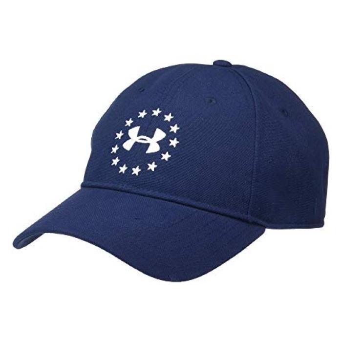 アンダー アーマー フリーダム キャップ 帽子 アンダーアーマー 2.0 メンズ 男性用 小物 【 UNDER ARMOUR FREEDOM CAP ACADEMY WHITE 】