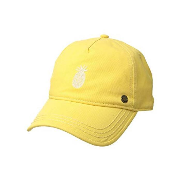 ロキシー レベル ベースボール キャップ 帽子 レディース 女性用 バッグ 【 ROXY NEXT LEVEL BASEBALL CAP OCHRE 】