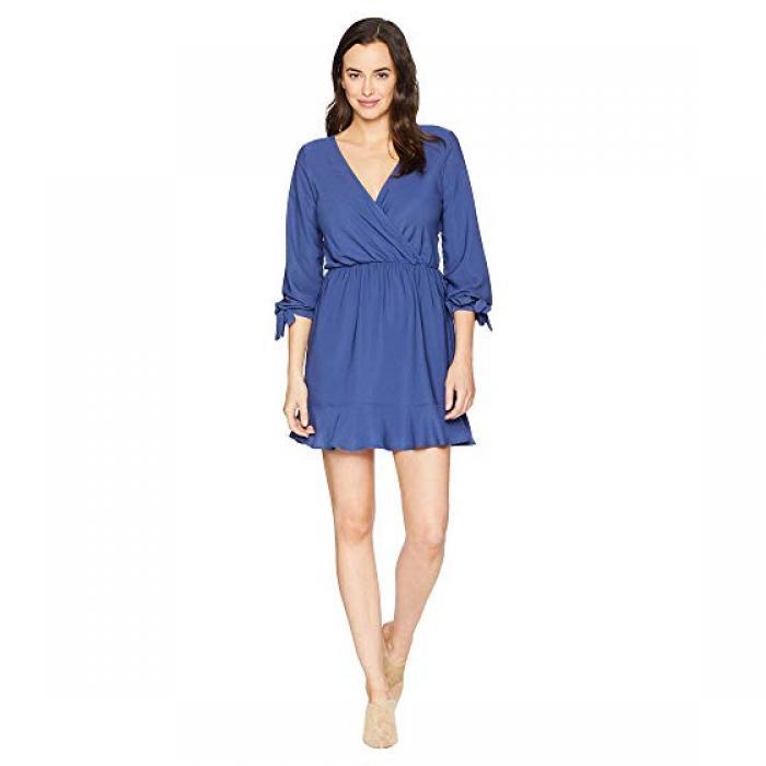 アメリカン アメリカン ローズ ブイネック ドレス BLUE ワンピース 青 ブルー レディース ワンピース 女性用 レディースファッション【 ROSE BLUE AMERICAN ELLA VNECK DRESS FOG】, イタミシ:0ea639a2 --- sunward.msk.ru