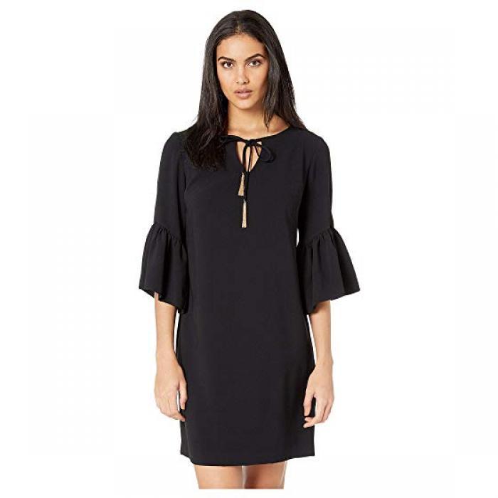 バロック ドレス ワンピース 黒 ブラック レディース 女性用 レディースファッション 【 BLACK TRINA TURK BAROQUE DRESS 】