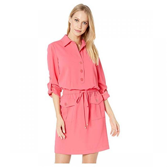 ドレス ワンピース グレープフルーツ レディース 女性用 レディースファッション 【 TRINA TURK PERMIT DRESS GRAPEFRUIT 】