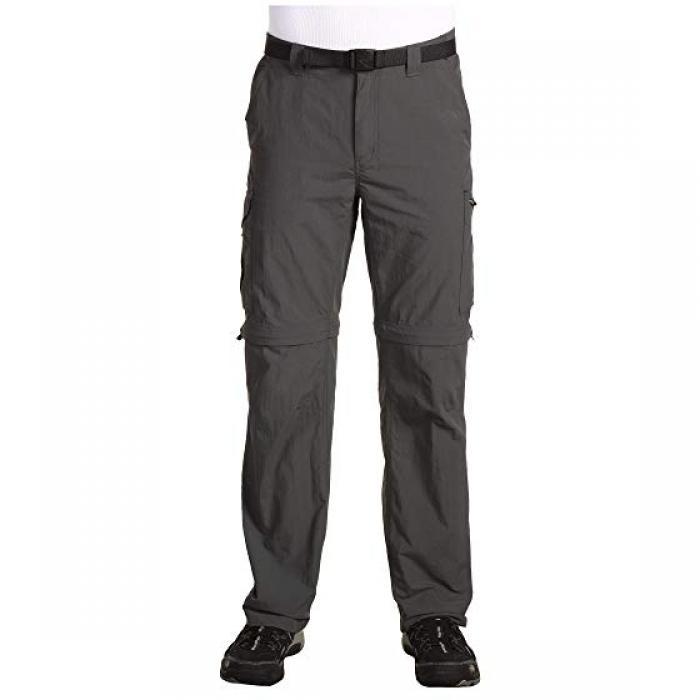 コロンビア 銀色 シルバー コンバーチブル パンツ RIDGE メンズ 男性用 ズボン 【 COLUMBIA SILVER CONVERTIBLE PANT GRILL 】