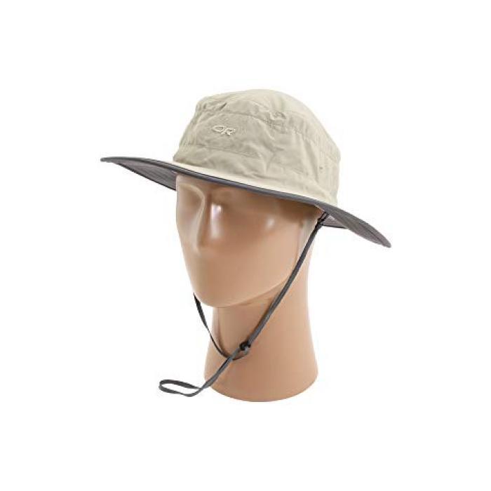 アウトドア ソーラー ローラー ハット GRAY灰色 グレイ レディース 女性用 帽子 【 GREY OUTDOOR RESEARCH SOLAR ROLLER HAT KHAKI DARK 】