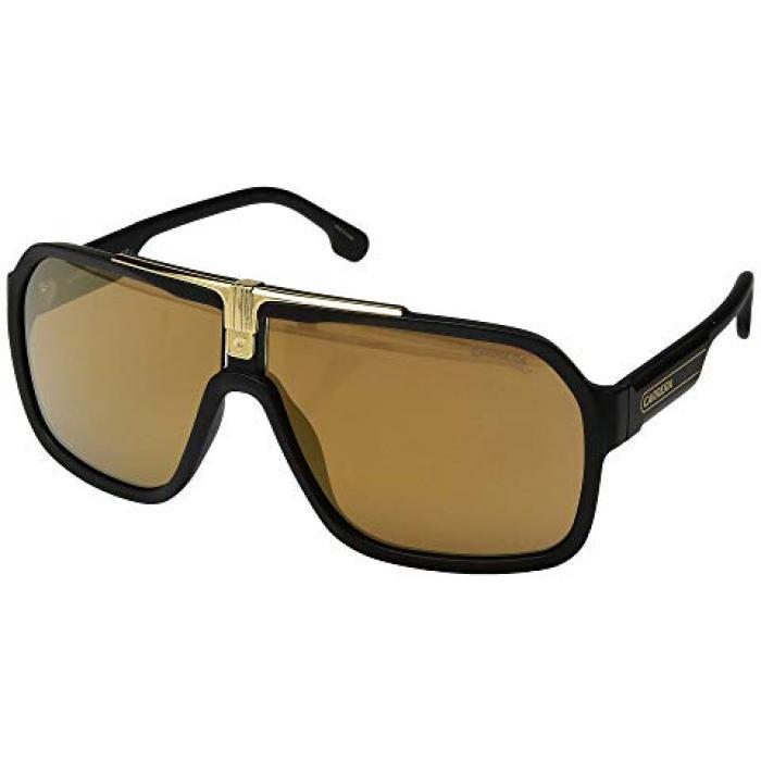カレラ メンズ 男性用 眼鏡 サングラス 【 CARRERA 1014 S BLACK BROWN GOLD 】