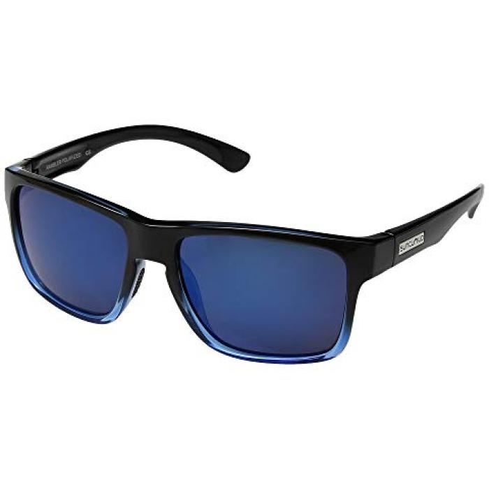 黒 ブラック 青 ブルー ミラー レンズ メンズ 男性用 眼鏡 ブランド雑貨 【 BLACK BLUE SUNCLOUD POLARIZED OPTICS RAMBLER MIRROR POLYCARBONATE LENS 】