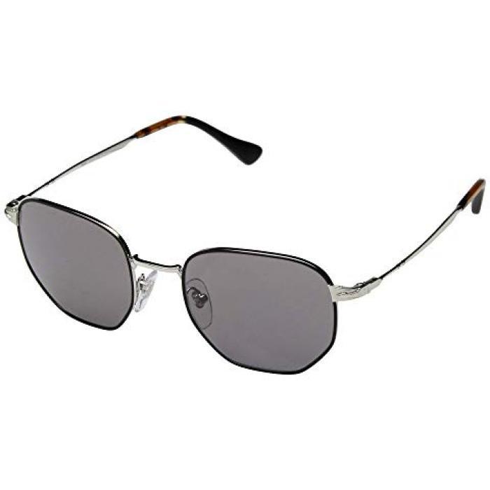 メンズ 男性用 サングラス 眼鏡 【 PERSOL 0PO2446S SILVER BLACK GREY 】