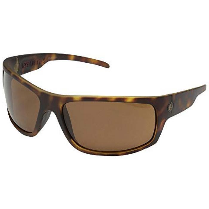 エレクトリック アイウェア テック マット ポーラー 銅 ブロンズ メンズ 男性用 バッグ 眼鏡 【 ELECTRIC EYEWEAR TECH ONE XLS POLARIZED MATTE TORT OHM POLAR BRONZE 】