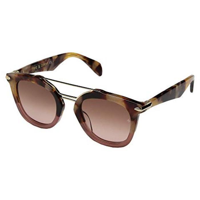 ボーン ピンク ハバナ & レディース 女性用 バッグ 眼鏡 【 PINK RAG BONE RNB1005 S HAVANA 】