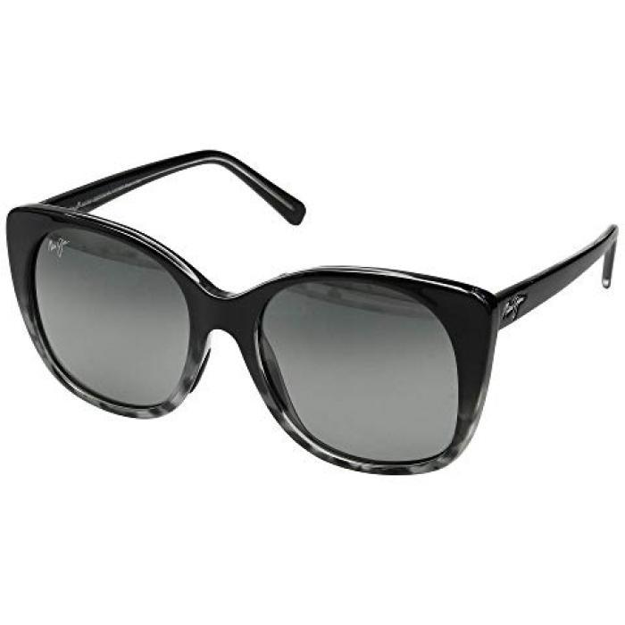 マウイ GRAY灰色 グレイ レディース 女性用 眼鏡 サングラス 【 GREY MAUI JIM MELE BLACK TORTOISE NEUTRAL 】