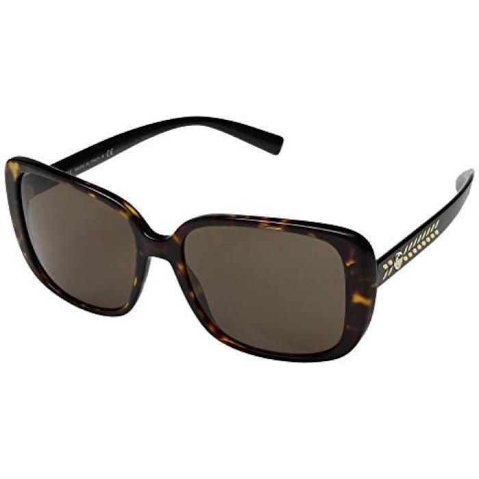 ヴェルサーチ ベルサーチ レディース 女性用 サングラス 眼鏡 【 VERSACE VE4357 HAVANA BROWN 】
