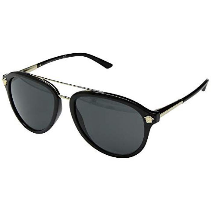 ヴェルサーチ ベルサーチ メンズ 男性用 バッグ 眼鏡 【 VERSACE VE4341 BLACK GREY 】