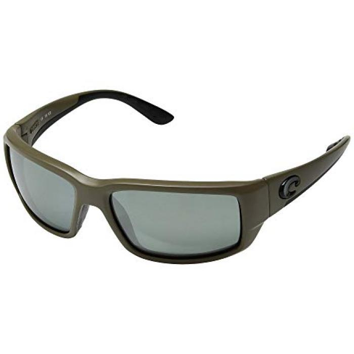 銀色 シルバー ミラー メンズ 男性用 バッグ 眼鏡 【 COSTA FANTAIL MOSS GRAY SILVER MIRROR 580G 】