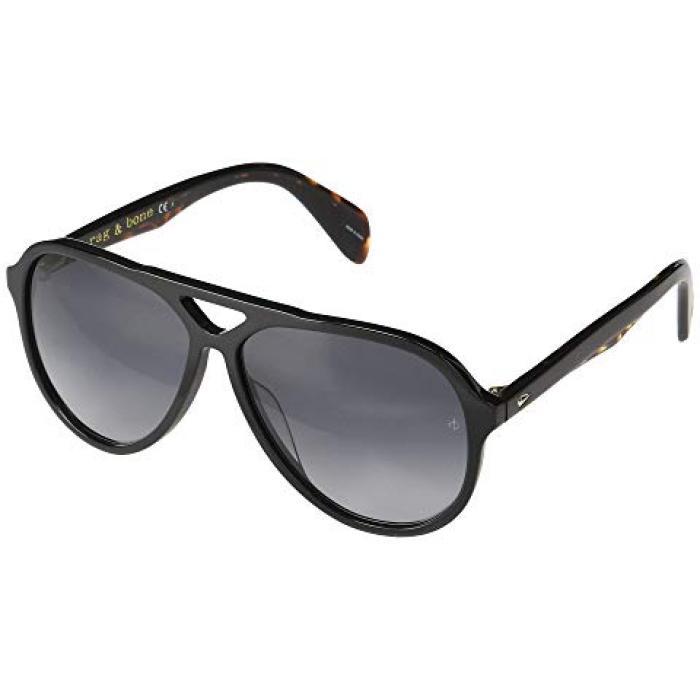 ボーン 黒 ブラック & メンズ 男性用 眼鏡 バッグ 【 BLACK RAG BONE RNB5015 S 】