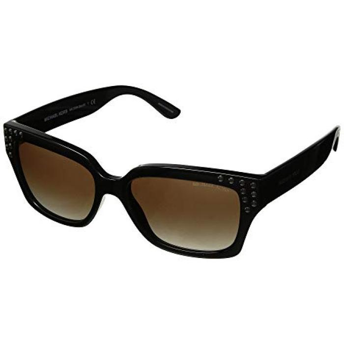 マイケル コース レディース 女性用 バッグ 眼鏡 【 MICHAEL KORS 0MK2066 55MM BLACK SMOKE GRADIENT 】