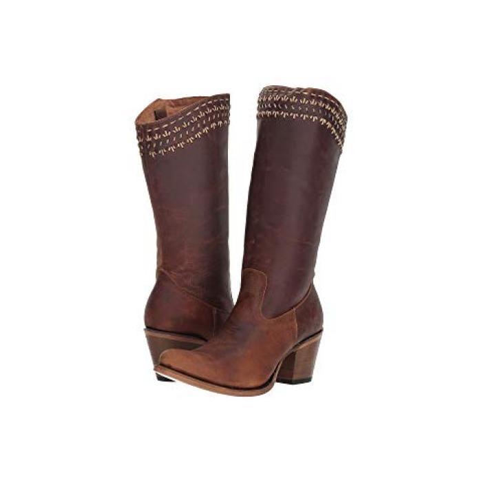 ブーツ 茶 ブラウン レディース 女性用 靴 レディース靴 【 CORRAL BOOTS Q5046 BROWN 】