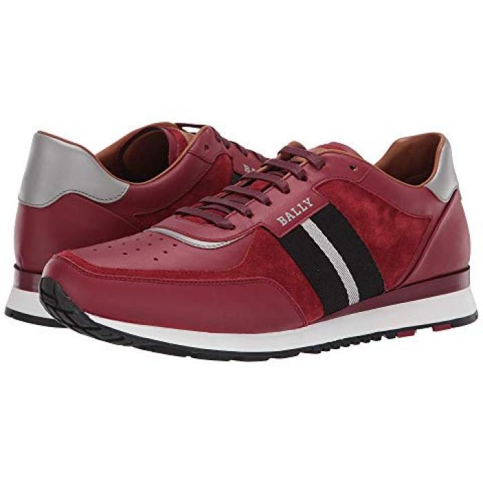 ニュー アストン スニーカー 赤 レッド メンズ 男性用 靴 【 BALLY NEW ASTON SNEAKER RED 】