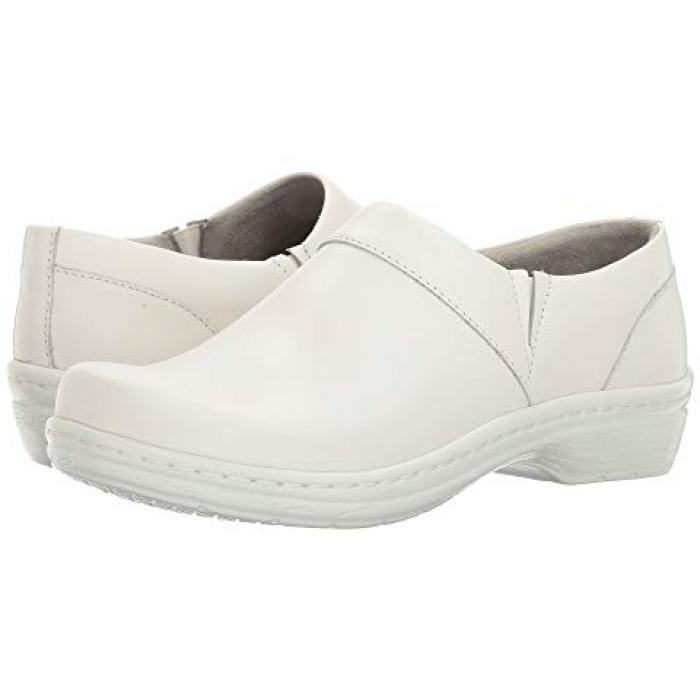 シューズ ミッション 白 ホワイト スムース レザー レディース 女性用 ミュール 靴 【 KLOGS FOOTWEAR MISSION WHITE SMOOTH LEATHER 】