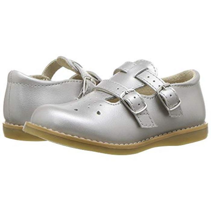 【エントリーで全商品ポイント10倍1/9 20:00-1/16 01:59迄】銀色 シルバー 子供用 ベビー 赤ちゃん用 靴 【 FOOTMATES DANIELLE 3 INFANT TODDLER SILVER 】