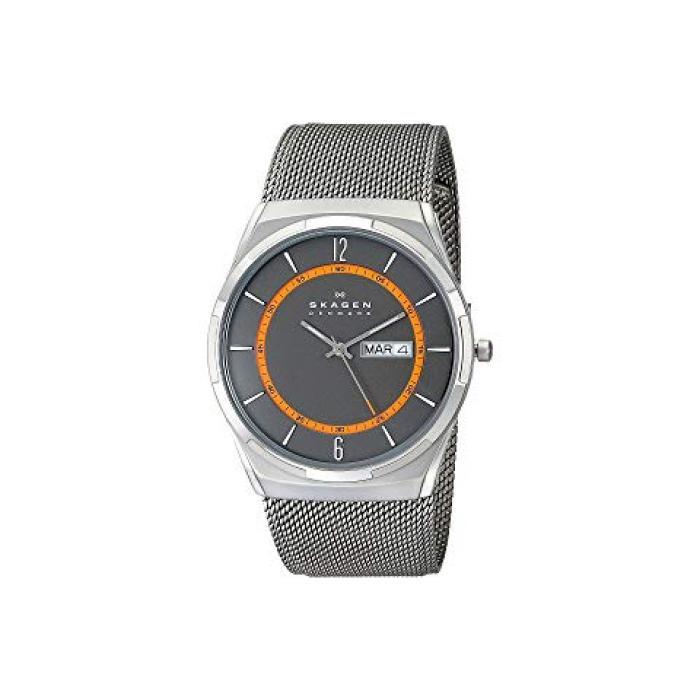 メッシュ チタン ウォッチ 時計 GRAY灰色 グレイ メンズ 男性用 腕時計 メンズ腕時計 【 WATCH GREY SKAGEN SKW6007 AKTIV MESH TITANIUM 】