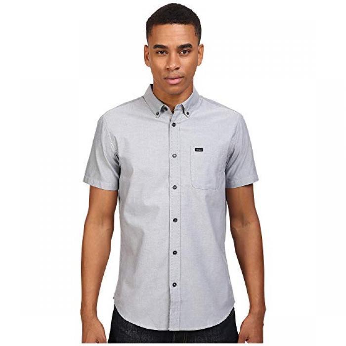 ルーカ ドゥー オックスフォード 半袖 Tシャツ THAT'LL メンズ 男性用 カジュアルシャツ トップス 【 RVCA DO OXFORD S PAVEMENT 】