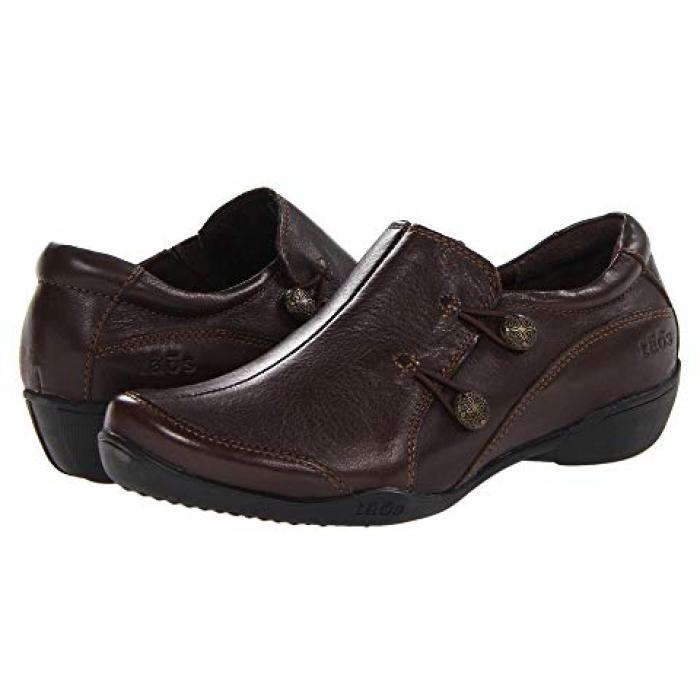 シューズ アンコール 茶 ブラウン レディース 女性用 バレエシューズ 靴 【 TAOS FOOTWEAR ENCORE BROWN 】
