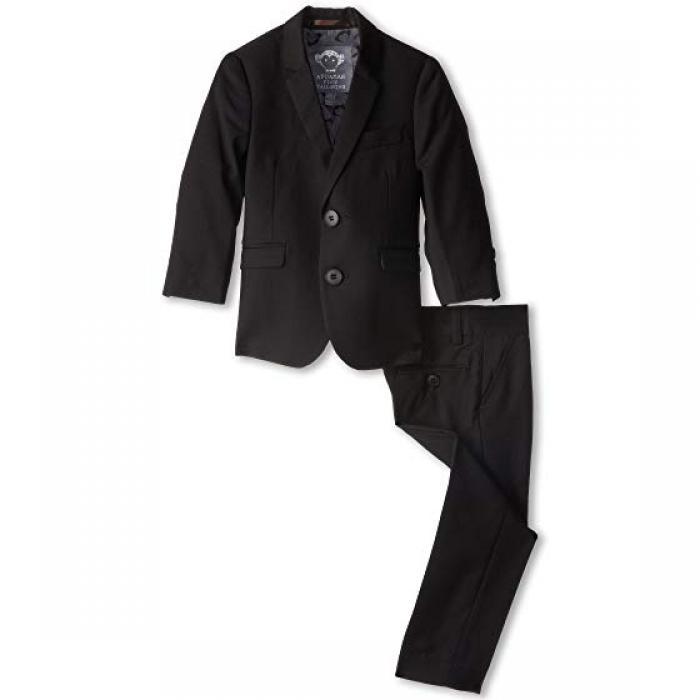 【エントリーで全商品ポイント10倍1/9 20:00-1/16 01:59迄】ピース クラシック モッズ スーツ 黒 ブラック 子供用 リトルキッズ トップス Tシャツ 【 BLACK APPAMAN KIDS TWO PIECE LINED CLASSIC MOD SUIT TODDLER 】