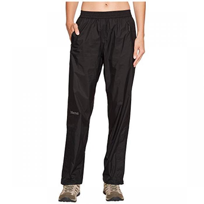 パンツ 黒 ブラック PRECIP レディース 女性用 レディースファッション 【 BLACK MARMOT PANT 】