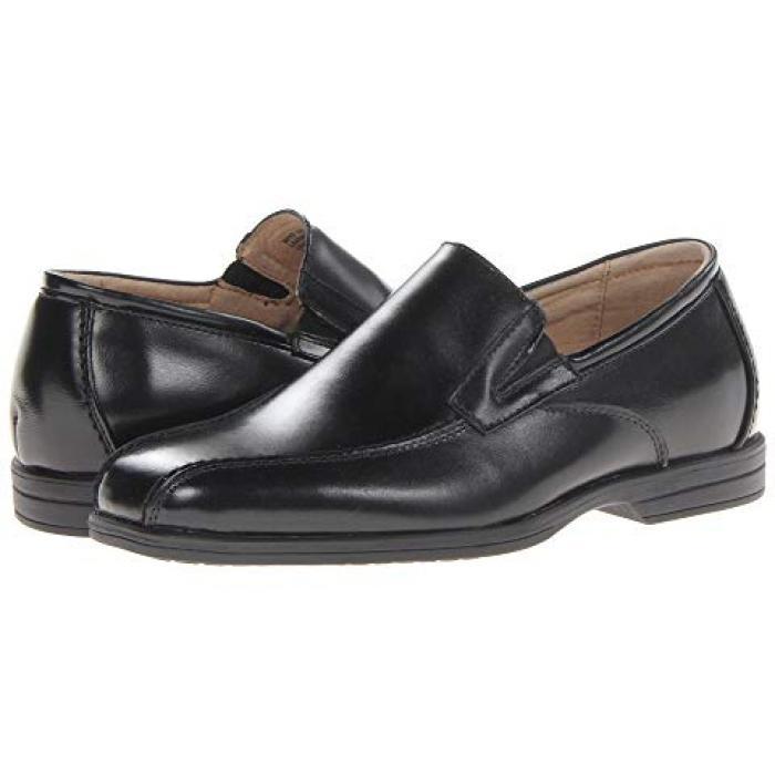 【エントリーで全商品ポイント10倍1/9 20:00-1/16 01:59迄】リビール スリップ 黒 ブラック JR. 子供用 ビッグキッズ 靴 ベビー 【 BLACK FLORSHEIM KIDS REVEAL BIKE SLIP TODDLER 】