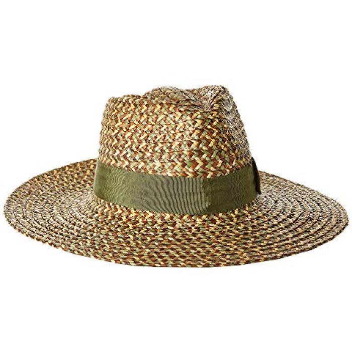 ブリクトン ジョアンナ ハット レディース 女性用 小物 麦わら帽子 【 BRIXTON JOANNA HAT BRONZE OLIVE TAN 】