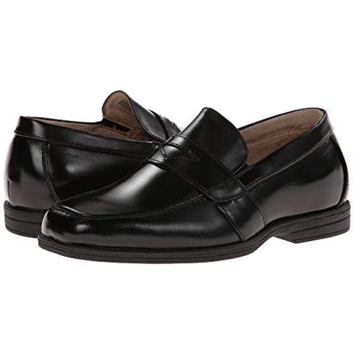 【エントリーで全商品ポイント10倍1/9 20:00-1/16 01:59迄】リビール ペニー 黒 ブラック JR. 子供用 ビッグキッズ 靴 キッズ 【 BLACK FLORSHEIM KIDS REVEAL PENNY TODDLER 】