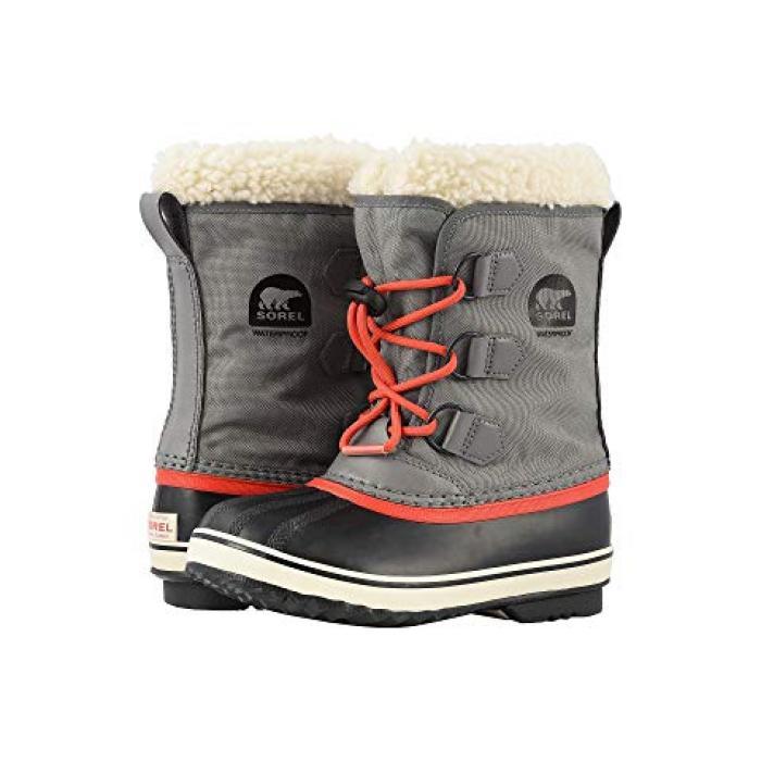 【エントリーで全商品ポイント10倍1/9 20:00-1/16 01:59迄】ナイロン 赤 レッド PAC 子供用 リトルキッズ 靴 マタニティ 【 SOREL KIDS YOOT NYLON QUARRY SAIL RED 】