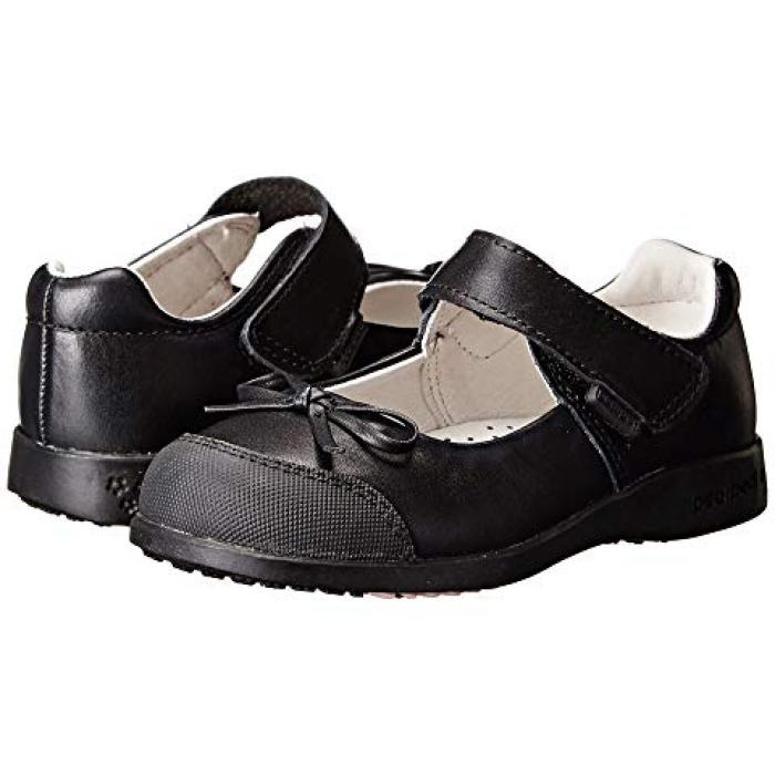 【エントリーで全商品ポイント10倍1/9 20:00-1/16 01:59迄】黒 ブラック 子供用 ビッグキッズ ベビー 靴 【 BLACK PEDIPED BECKY FLEX TODDLER 】