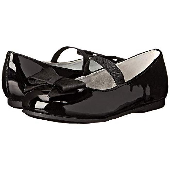 【エントリーで全商品ポイント10倍1/9 20:00-1/16 01:59迄】ニーナ 黒 ブラック パテント 子供用 ビッグキッズ ベビー 靴 【 BLACK NINA KIDS PEGASUST TODDLER PATENT 】