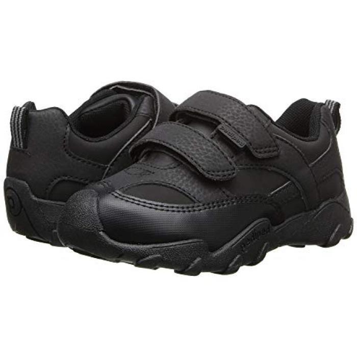 黒 ブラック 子供用 ビッグキッズ スニーカー 靴 【 BLACK PEDIPED HIGHLANDER FLEX TODDLER 】