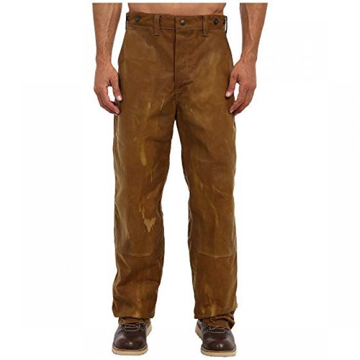 フィニッシュ ダブル ティン パンツ タン メンズ 男性用 ズボン メンズファッション 【 FILSON OIL FINISH DOUBLE TIN PANT TAN 】