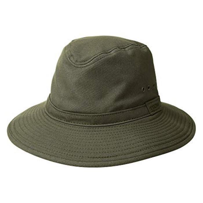 サマー ハット 緑 グリーン メンズ 男性用 バッグ 【 SUMMER GREEN FILSON PACKER HAT OTTER 】