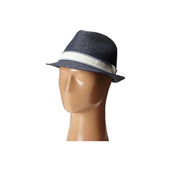 紺 ネイビー レディース 女性用 バッグ 麦わら帽子 【 NAVY GOORIN BROTHERS KILLIAN 】
