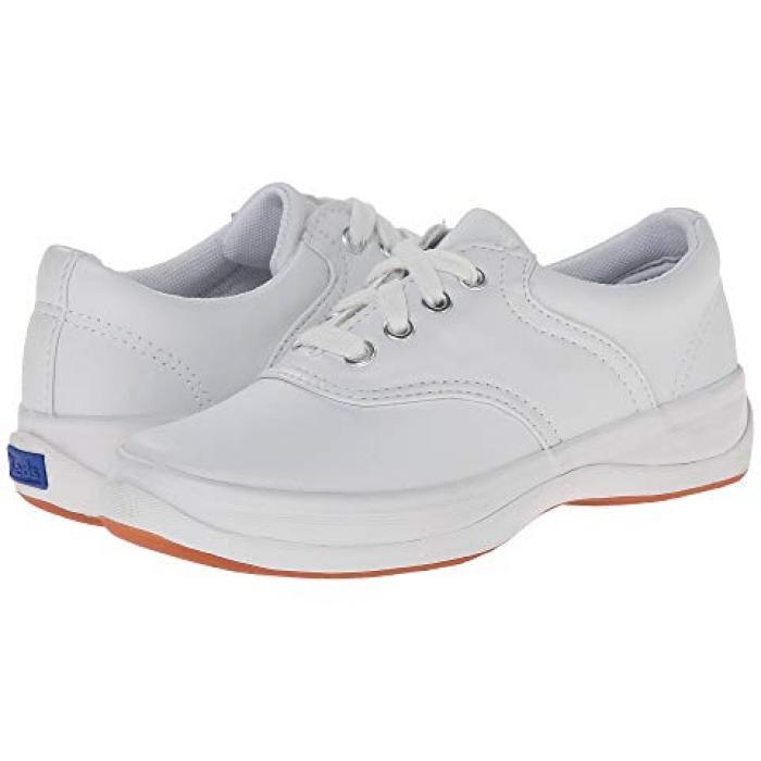スクール デイズ 白 ホワイト レザー 子供用 リトルキッズ ベビー 靴 【 KEDS KIDS SCHOOL DAYS II WHITE LEATHER 】