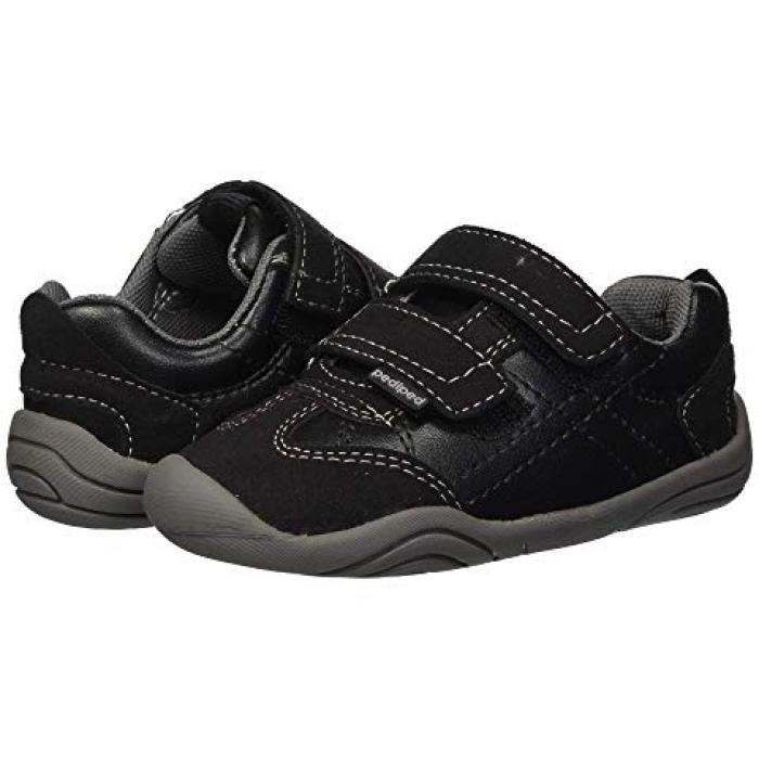 【エントリーで全商品ポイント10倍1/9 20:00-1/16 01:59迄】グリップ ゴー 黒 ブラック ベビー 赤ちゃん用 靴 【 BLACK PEDIPED GEHRIG GRIP N GO TODDLER 】
