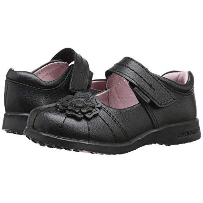 【エントリーで全商品ポイント10倍1/9 20:00-1/16 01:59迄】サラ 黒 ブラック 子供用 ビッグキッズ ベビー 靴 【 BLACK PEDIPED SARAH FLEX TODDLER 】