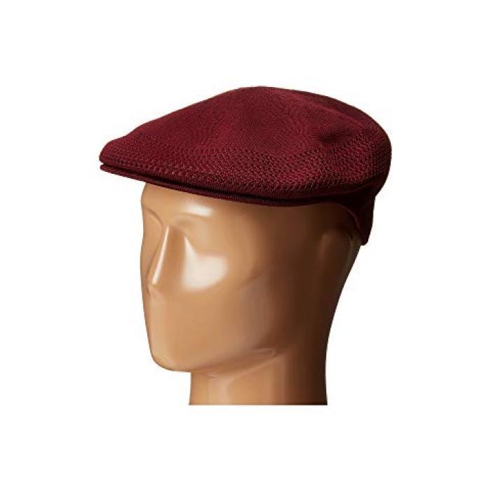 コンゴール キャップ 帽子 ワイン色 バーガンディー メンズ 男性用 メンズ帽子 【 KANGOL VENTAIR 504 CAP BURGUNDY 】